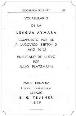 Resultado de imagen de aymaras lengua escrita